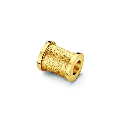 Bead vedhæng i guld