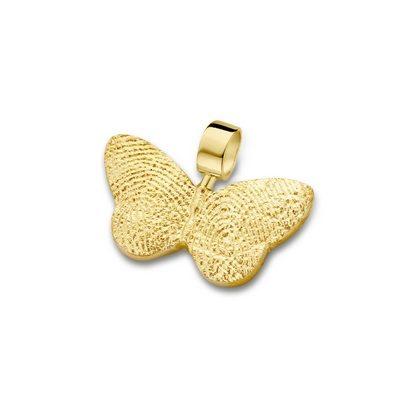 Butterfly Pendant i guld