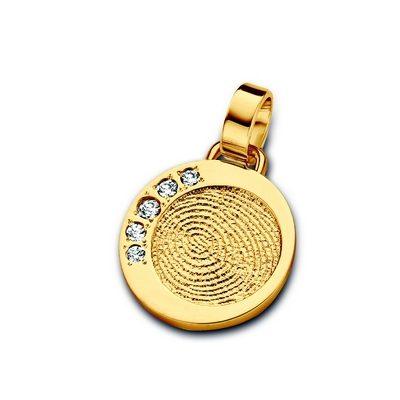 Dazzling Zirconia i guld