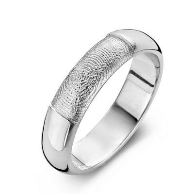 Love ring i sølv
