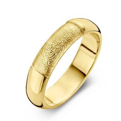 Love ring i guld