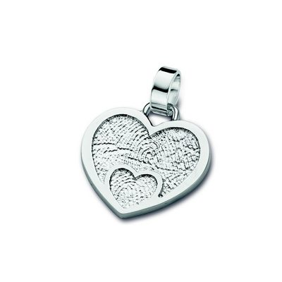 Loved One Pendant i hvidguld