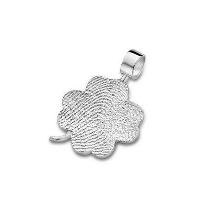 Luck Pendant i hvidguld