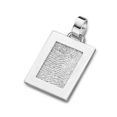 Pure Pendant i sølv