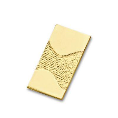 Wave Pendant i guld